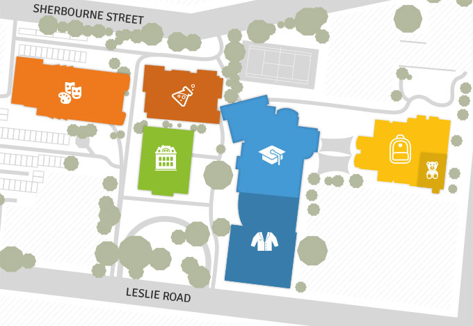 Lander Campus Map.School Map Lowther Hall